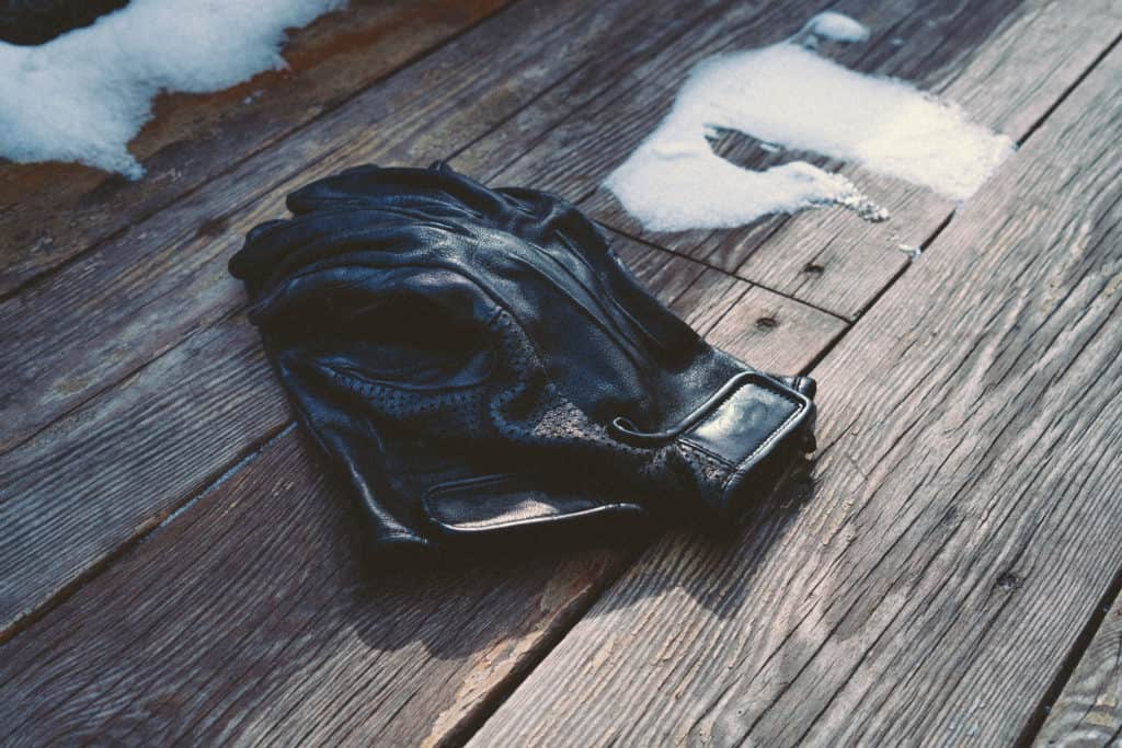 Creed Scented Leather Gloves